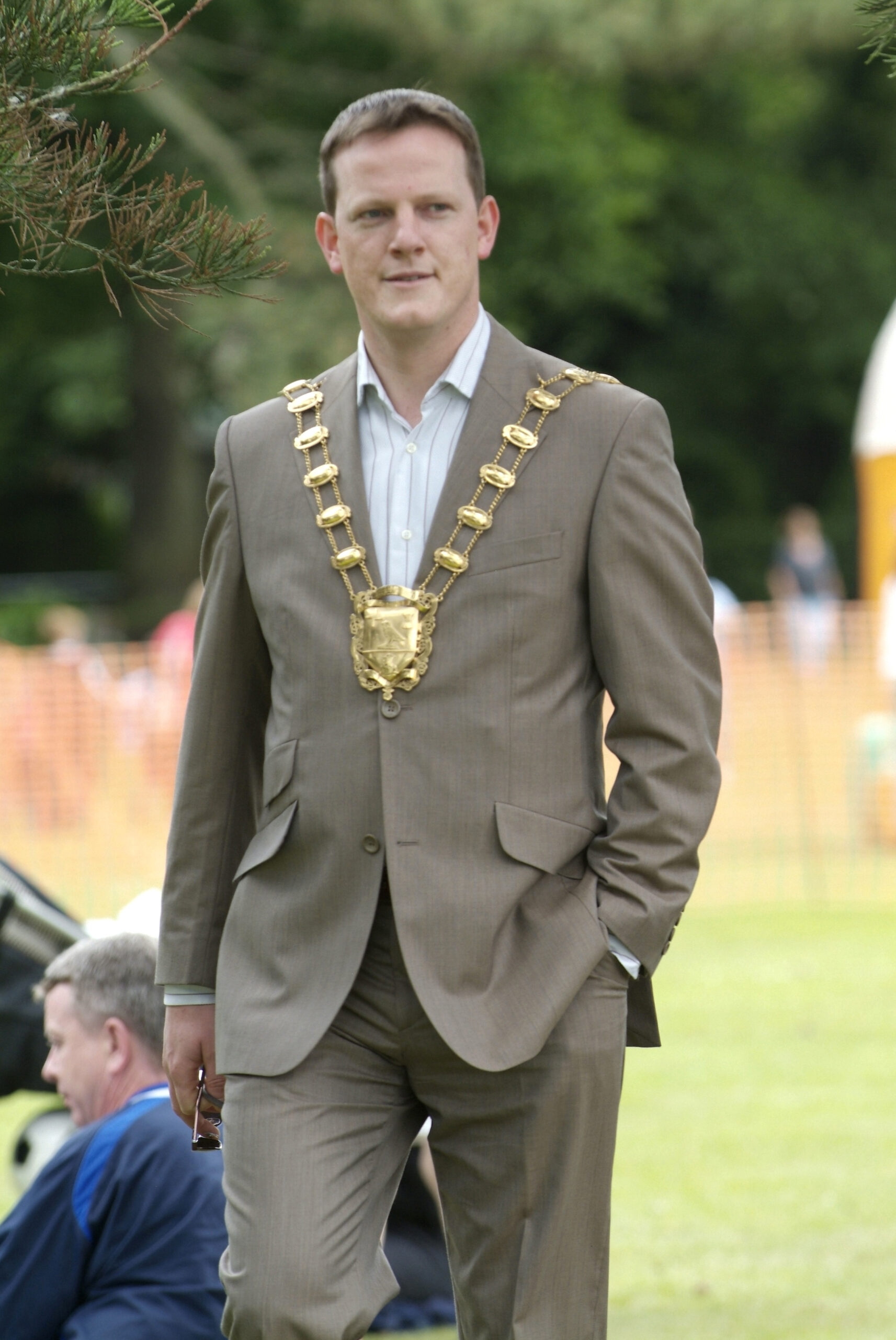 Elected Mayor of Fingal 2007